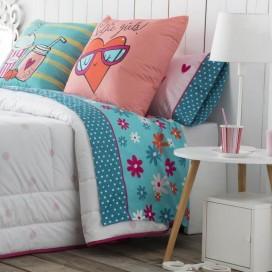 Juego sábanas estampadas SELFIE JVR para la cama