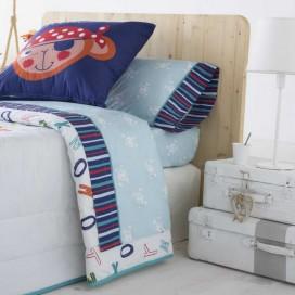 Juego sábanas infantiles MONKEY JVR para la cama