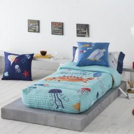 Edredón ajustable infantil CRABBY 12 JVR para la cama