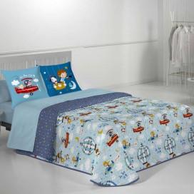 Colcha Bouti 20 Infantil HOLIDAY JVR para la cama