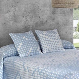 Cojín 50X50 AMANDA jacquard JVR para la cama